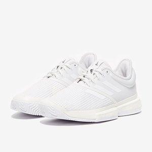 NEW Adidas SoleCourt Boost Parley White 8